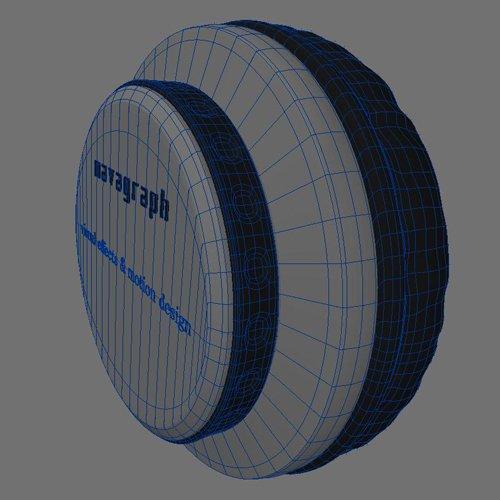 フォトリアルCG-プロダクト ヘッドフォン モデリング