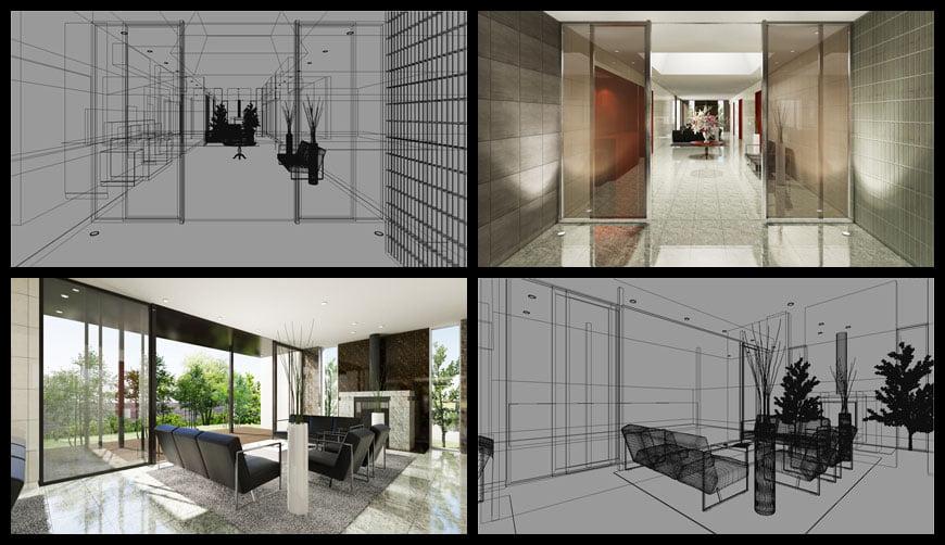 建築パース / マンションギャラリー