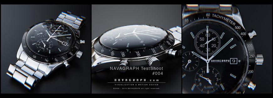 フォトリアル腕時計CG