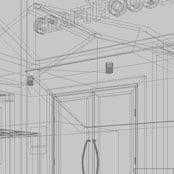 外観建築パース
