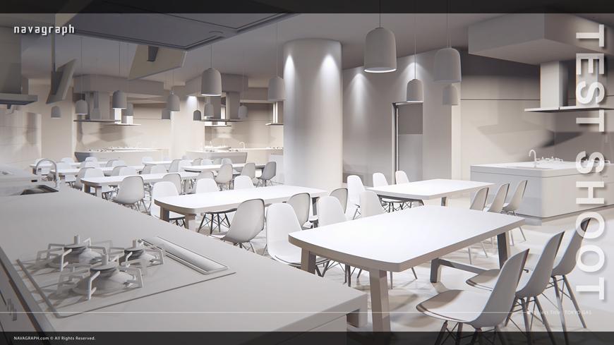 東京ガスCG_test_white フォトリアル建築パース